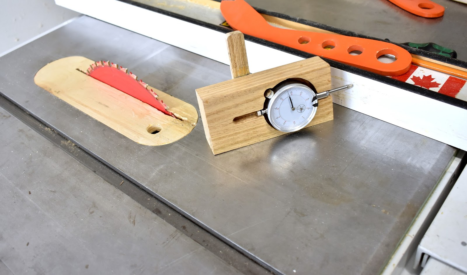 Jax Design Table Saw Fence And Blade Micro Adjustment Jig