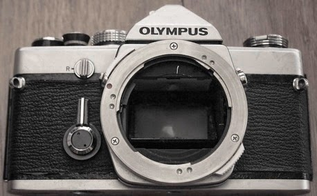 olympus om-1 silver chrome