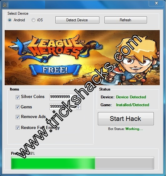 THIS IS LEAGUE OF HEROES HACK CHEAT TOOL 2013 SCREENSHOT