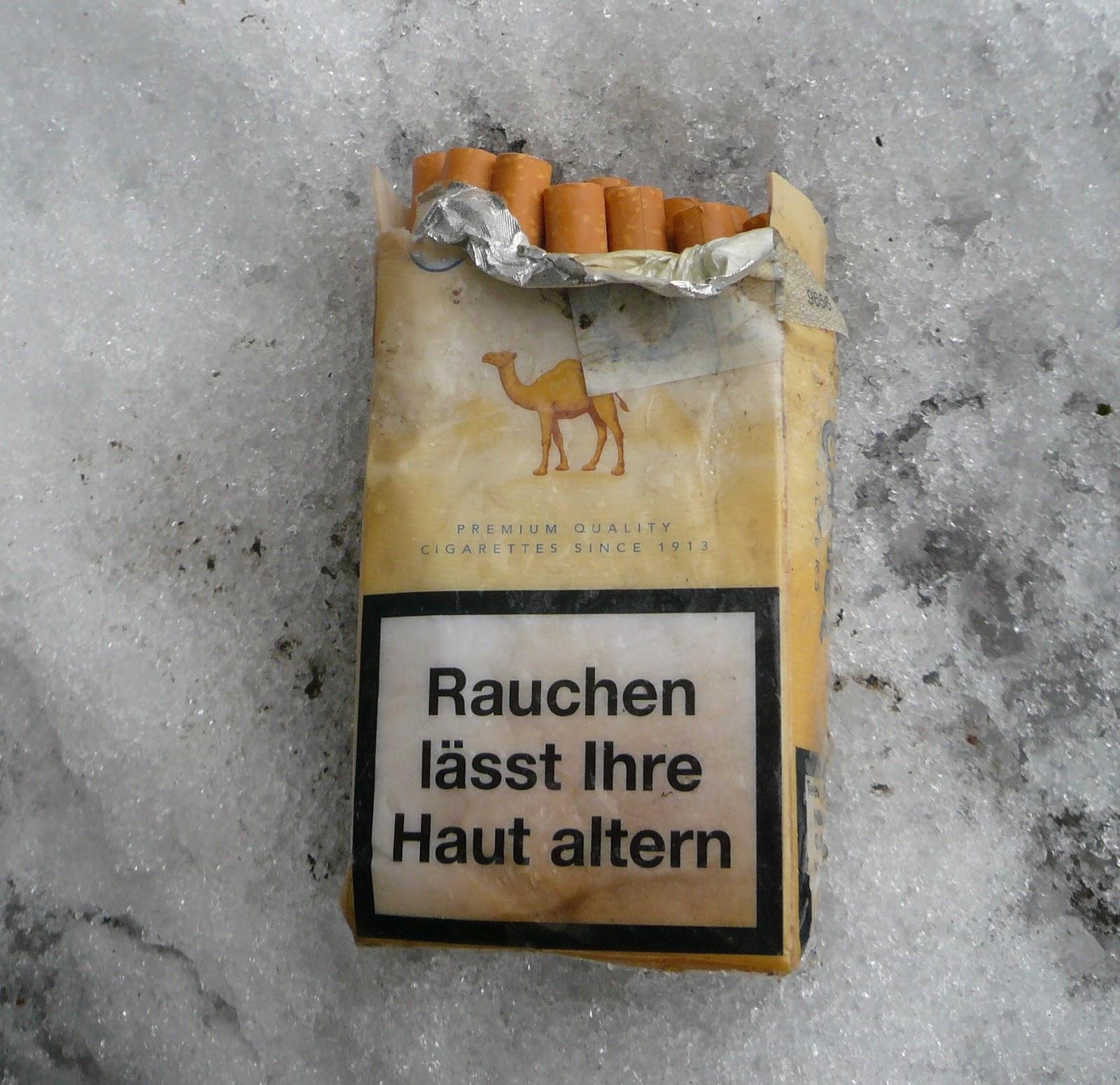 rauchen und haut
