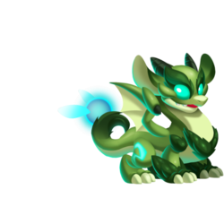 Night Forest Dragon (Teen)