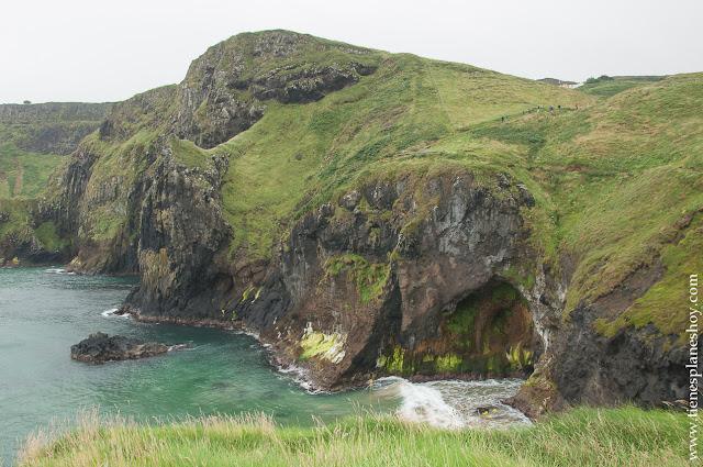 Costa Carrick a Rede Rope Irlanda del Norte