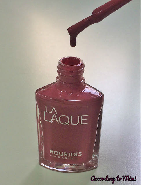 Bourjois La Laque nail polish in 7 Lycheers