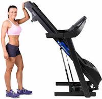 XTERRA Fitness TR600 Foldability