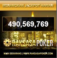 RAKSASAPOKER.COM Jackpot Terbesar di Indonesia