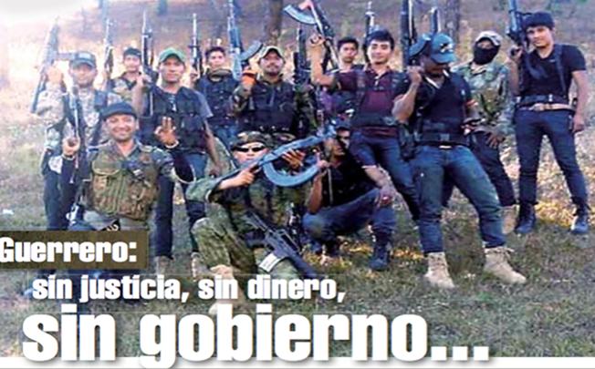 Guerrero: sin justicia, sin dinero, sin gobierno...