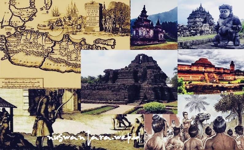 Gambar kerajaan hindu budha yang ada di Nusantara