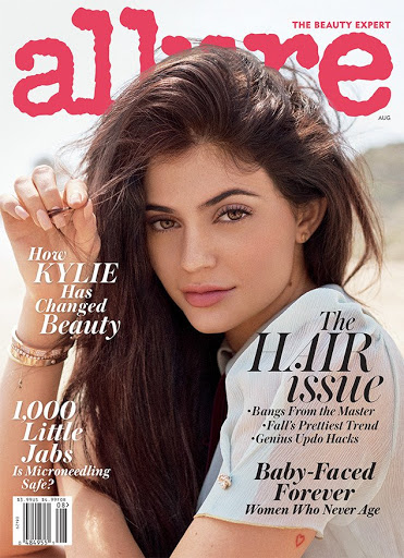 Kylie Jenner sexy models photo shoot for Allure Magazine August 2016