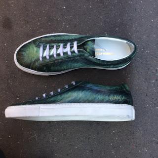 van gogh, paulus bolten, patinaed sneaker, commun project