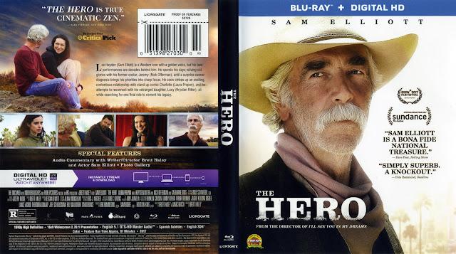 The Hero Bluray Cover