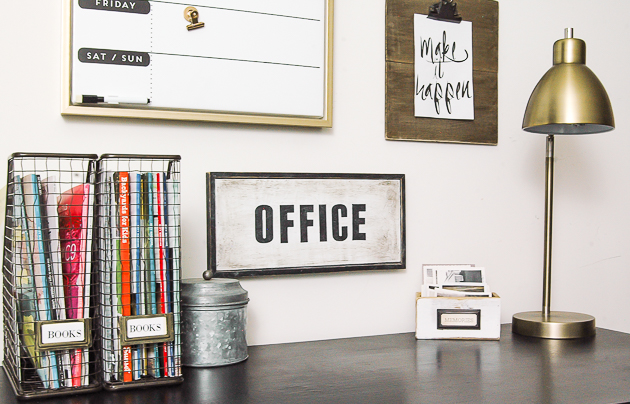 Organized office desk