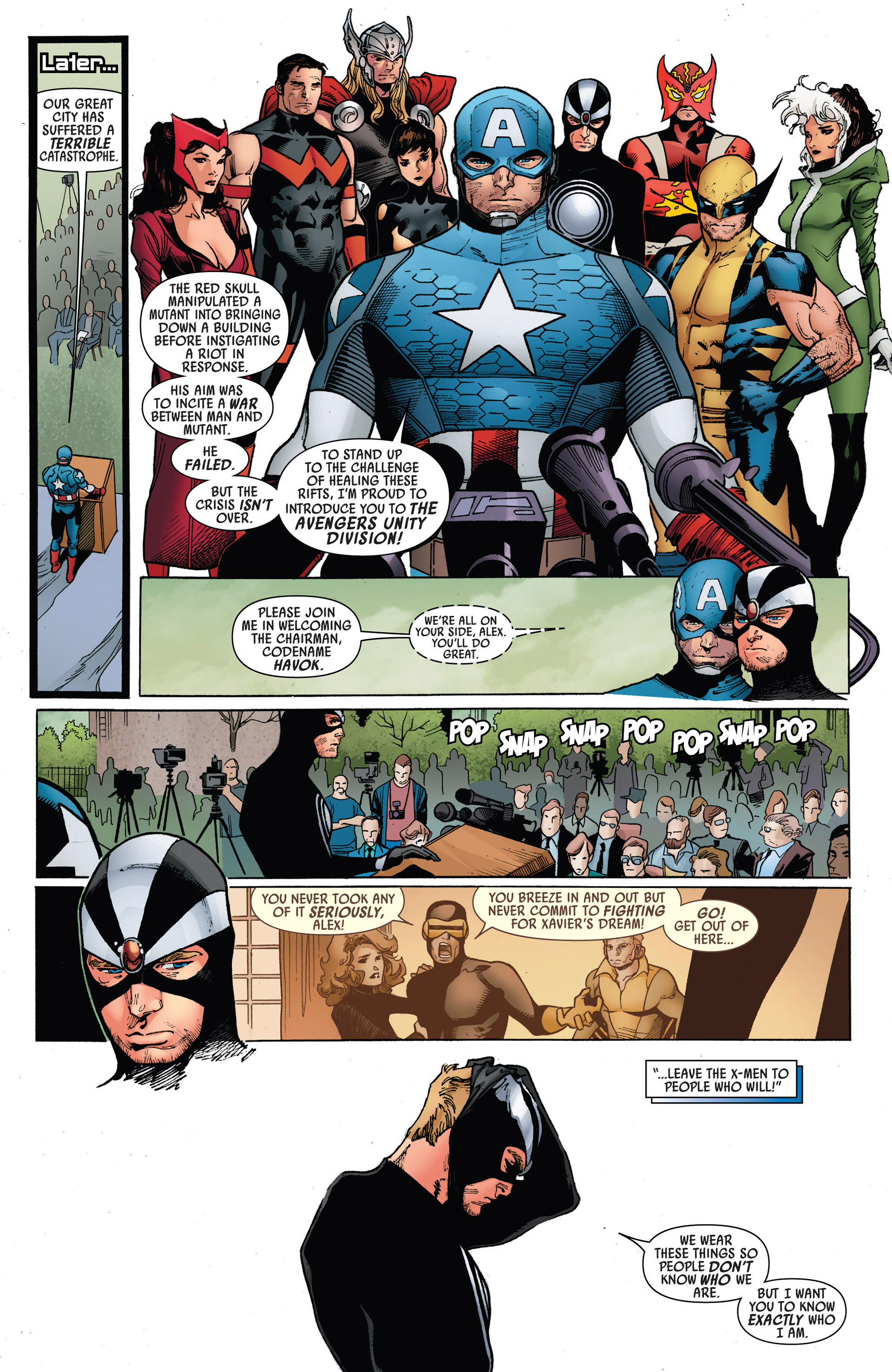 Read online Uncanny Avengers (2012) comic -  Issue #5 - 15