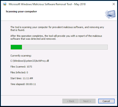 Microsoft Windows Malicious Software Removal Tool v5.60
