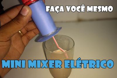 Mixer caseiro