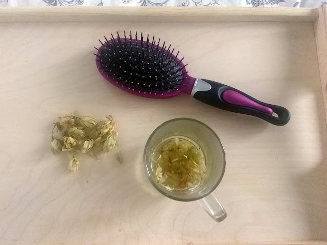 Dieta i zioła na wypadanie włosów