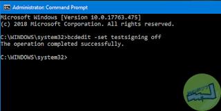 Menghilangkan Test Mode Di Windows