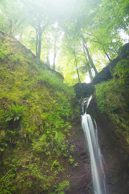 Landschaftsfotografie Andreas Blauth in Frankreich, Wasserfall