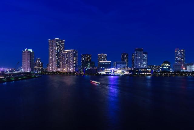 豊洲の夜景~晴海大橋