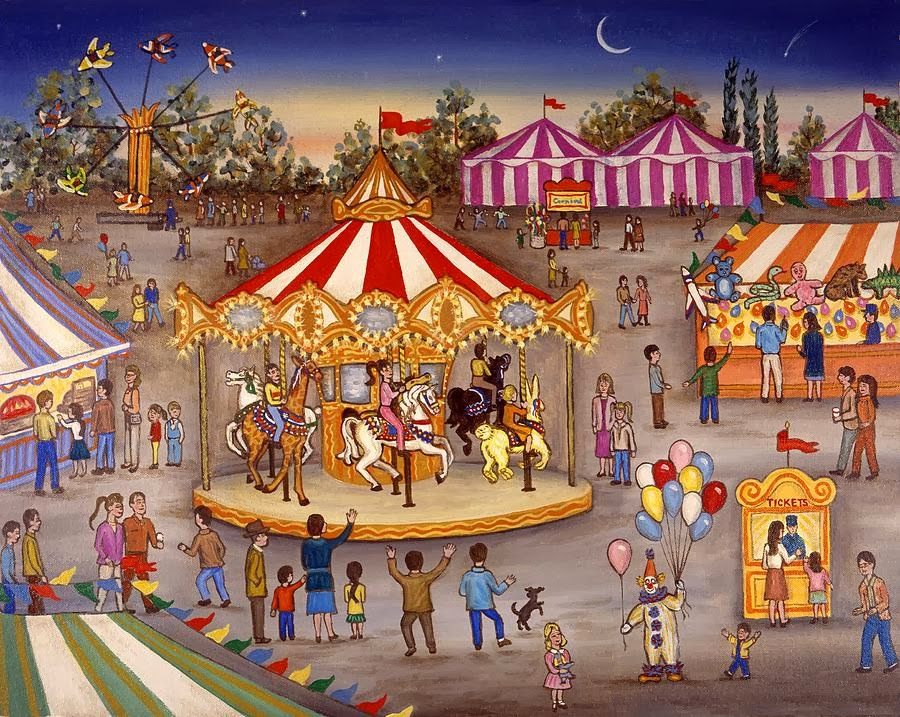 A vida é um parque de diversões