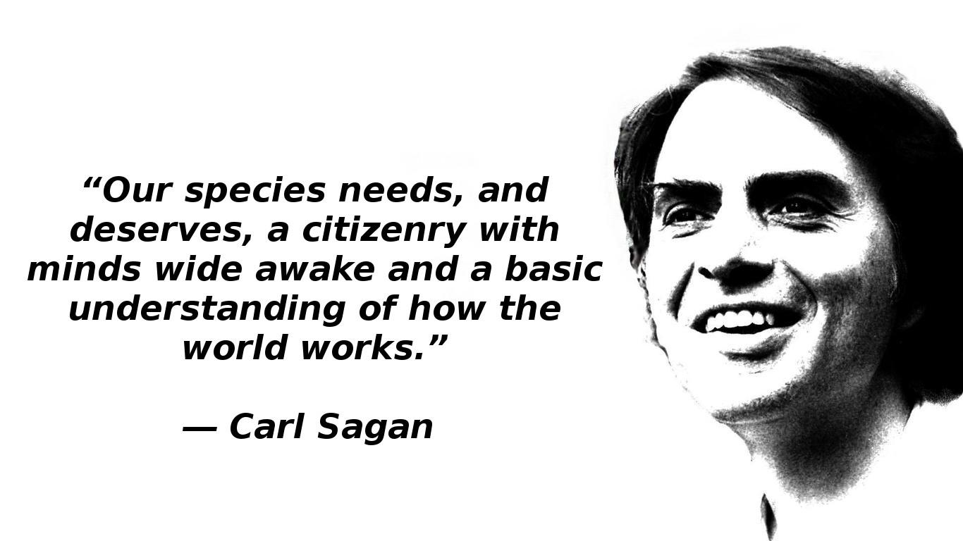 31 Carl Sagan Quotes You Will Love