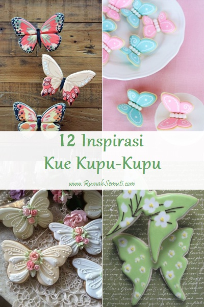 12 Inspirasi Kue Kupu-Kupu
