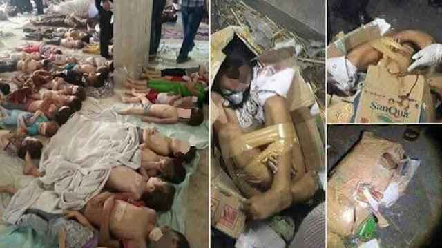 Mengerikan, Foto Ratusan Jasad Anak-anak Diduga Korban Penculikan dan Diambil Organnya Bikin Geger