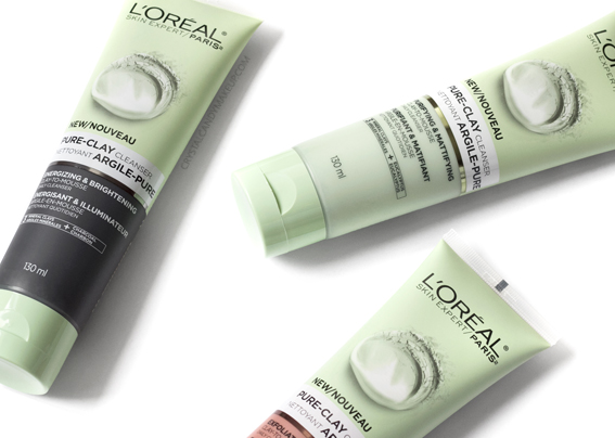 L'Oreal Paris Pure-Clay Cleansers Review