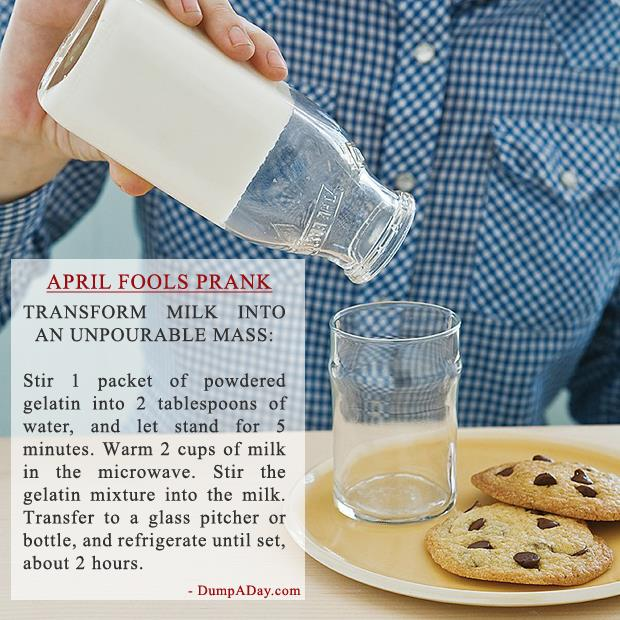 Best Harmless April Fools Pranks