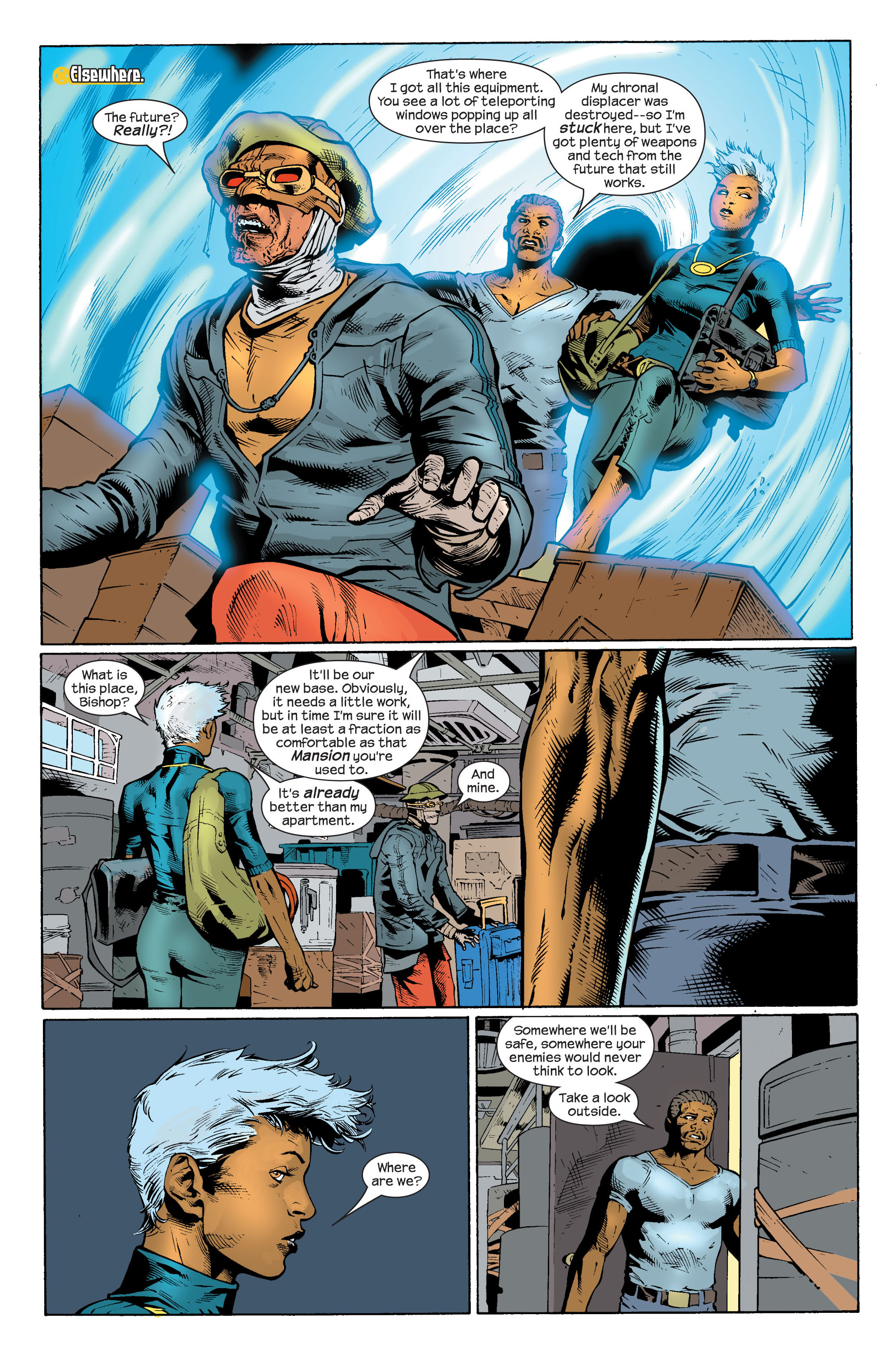 Read online Ultimate X-Men comic -  Issue #82 - 17