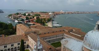 Las mejores panorámicas de Venecia son desde  la Iglesia de San Giorgio Maggiore.