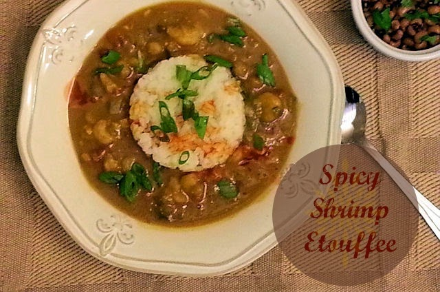 Spicy Shrimp Etouffee