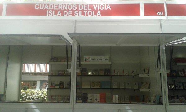 La isla de siltol en la feria del libro de granada 2016 junto a cuadernos del vig a - Catalogo conforama granada 2016 ...