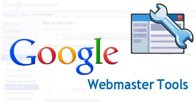Cara Verivikasi Blogger ke Webmaster Tools