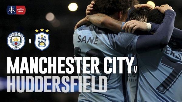 Man City vs Huddersfield Town