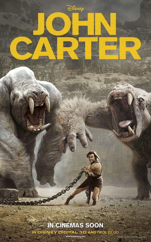 John Carter (2012) Dual Audio Hindi 400MB BluRay 480p x264 ESubs