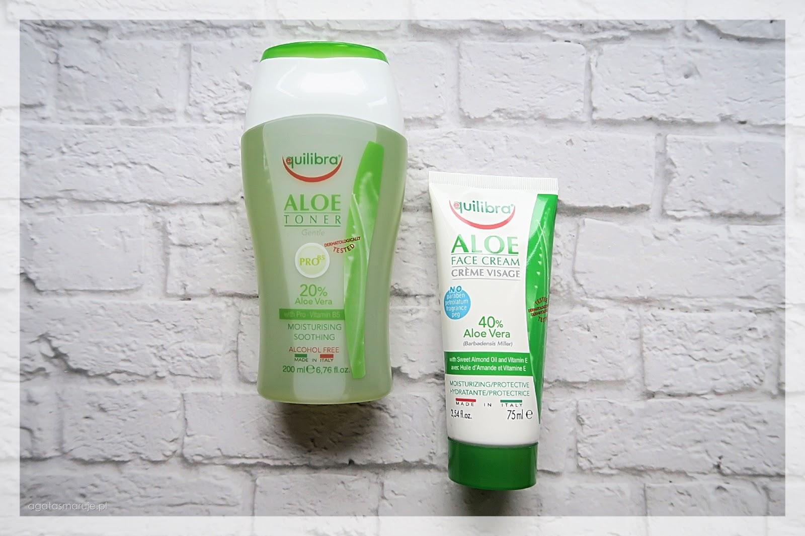 Aloesowa pielęgnacja twarzy z markąEquilibra