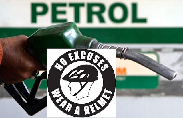 No helmet, no petrol on Siliguri roads
