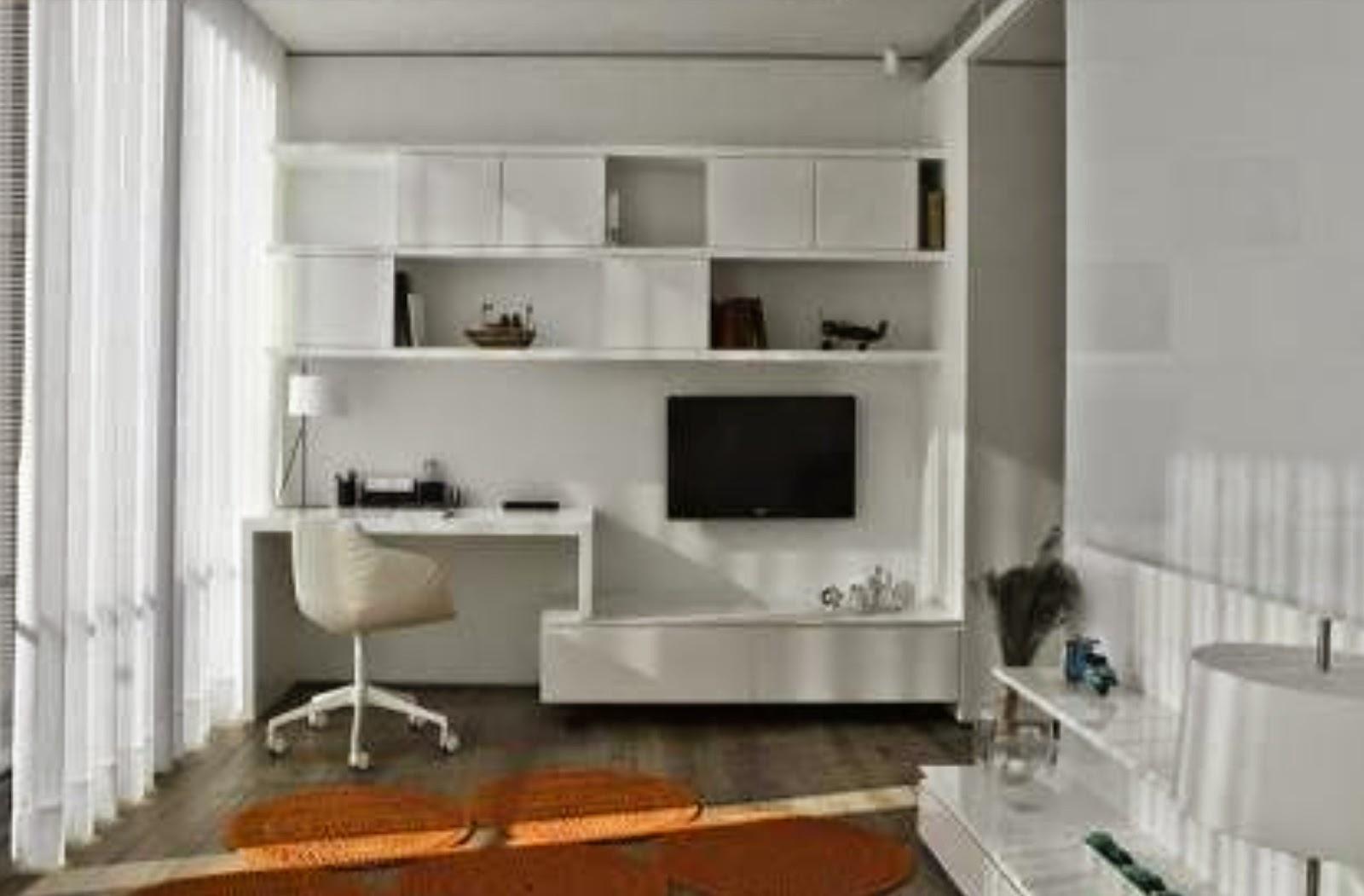 Besta Wall Desk 3d House Drawing