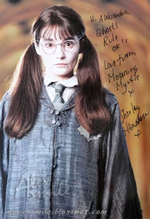 Shirley Henderson Jęcząca Marta Moaning Myrtle Autograf Harry Potter