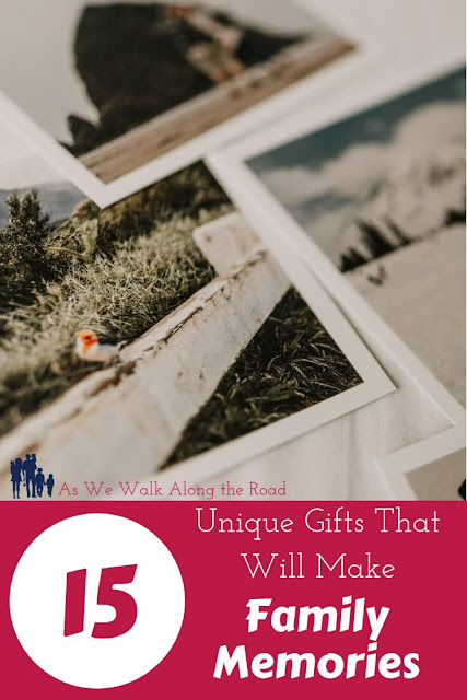 Unique family memory gifts