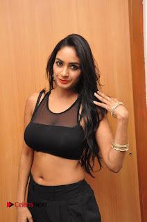 Actress Pooja Sree  Pictures at Khaan Saab Restuarent Launch in Gachibowli   0147