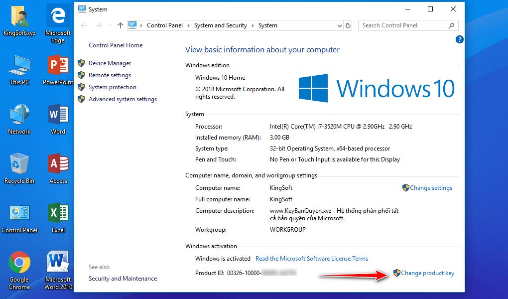 Hướng dẫn nâp cấp Windows 10 Home lên Pro