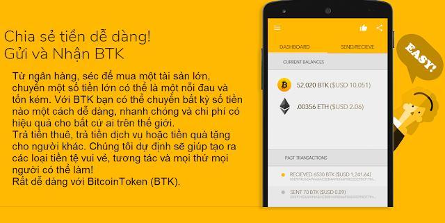 Lợi thế BItcoin Token