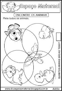 Atividade discriminação visual maternal