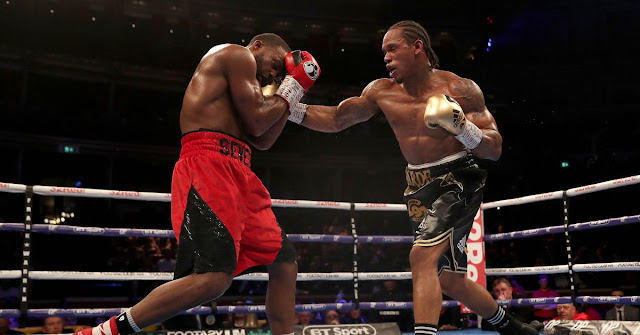 Anthony Yarde KOs Travis Reeves in the Fifth Round.