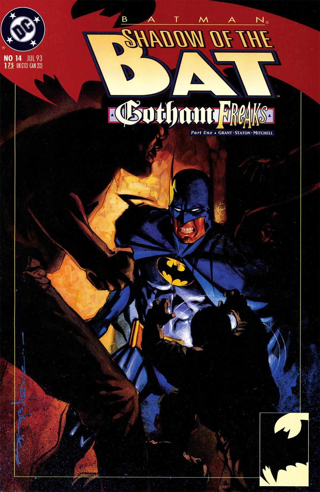 Batman: Shadow of the Bat 14 Page 1