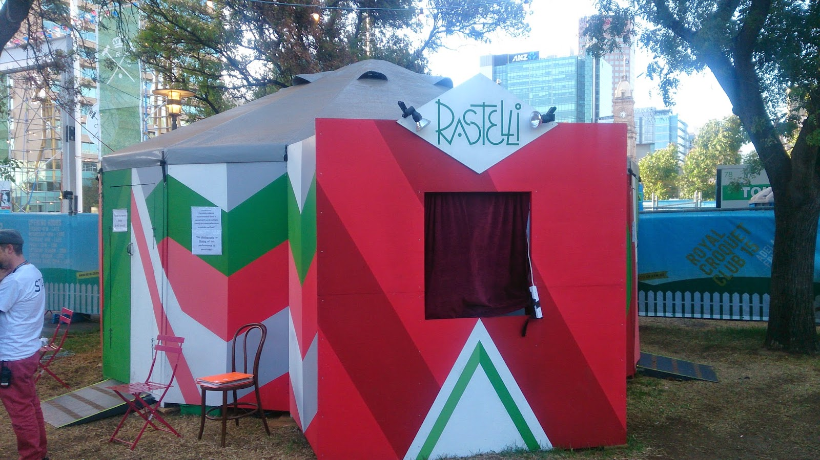 Royal Croquet Club Tent