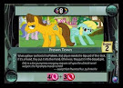 My Little Pony Frown Town Canterlot Nights CCG Card