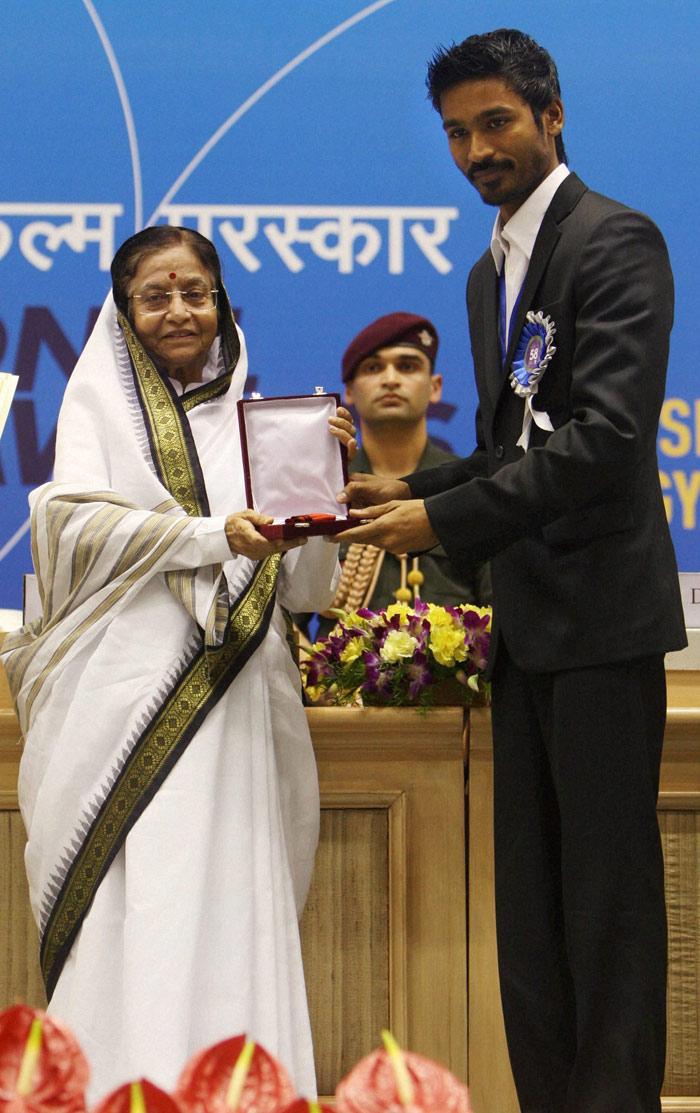 ramforall: K Balachander, Dhanush at 58th National Film Awards ...
