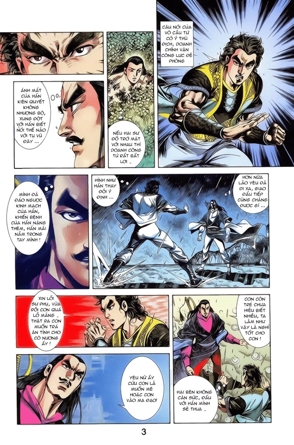 Tần Vương Doanh Chính chapter 19 trang 16